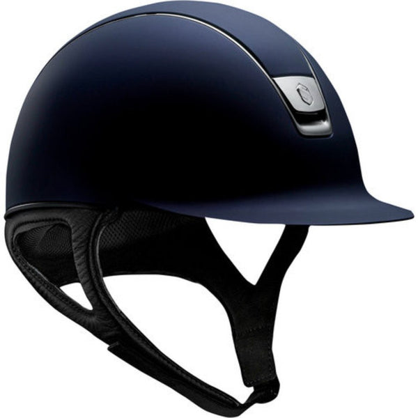Samshield SHADOW MATTE Helmet - Navy - Equestrian Chic Boutique