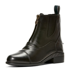 Ariat Devon IV Zip Kid's Paddock Boot - Black - Equestrian Chic Boutique