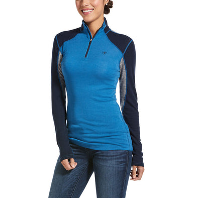 Ariat Cadence Wool 1/4 Zip Baselayer