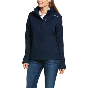 Ariat Coastal Waterproof Jacket - Navy - Equestrian Chic Boutique