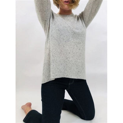 Boo Gemes Donegal Tail Cashmere Sweater