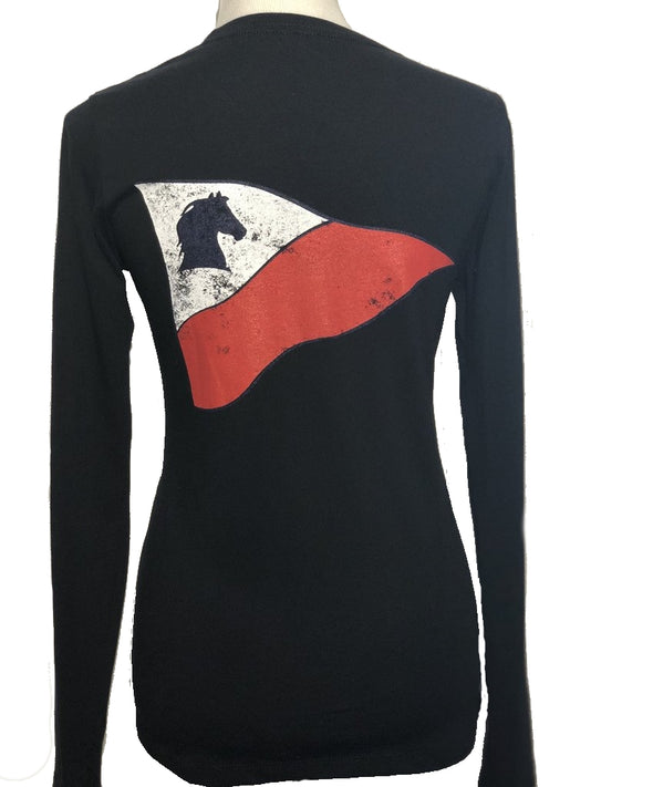 Cape Equestrian Ladies' Long Sleeve Tee