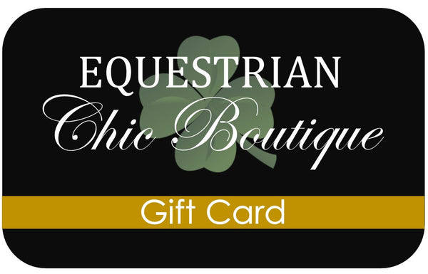 Equestrian Chic Boutique Gift Card