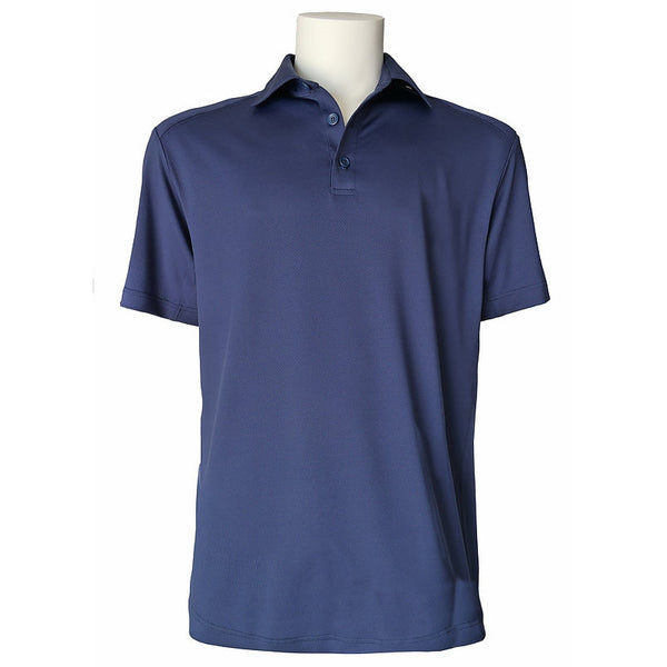 Equi In Style MEN'S Short Sleeve POLO Shirt - Navy - Equestrian Chic Boutique