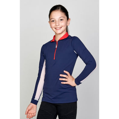 Equi In Style Youth Cool Shirt - American - Equestrian Chic Boutique