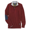 Essex Classics Trey Quarter Zip Sweater - Burgundy - Equestrian Chic Boutique