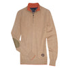 Essex Classics Trey Sweater - Camel - Equestrian Chic Boutique