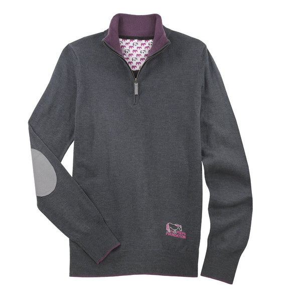 Essex Classics Trey Quarter Zip Sweater - Peeps - Equestrian Chic Boutique