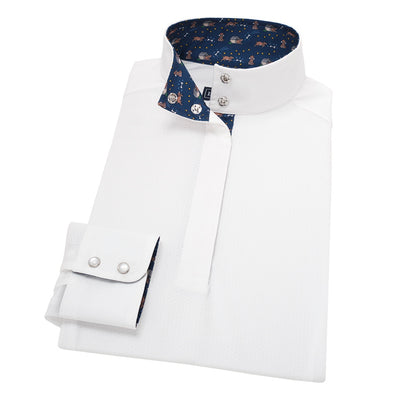 Essex Classics Danny & Ron's In the Dog House Ladies Straight Collar Show Shirt - Equestrian Chic Boutique