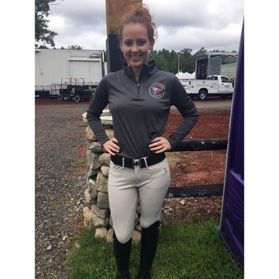 Cape Equestrian 1/4 Zip Grip Shirt