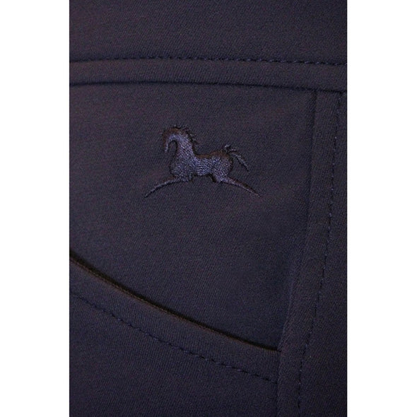 RJ Classics Low Rise Front Zip Euroseat GULF Breech - Equestrian Chic Boutique - 8