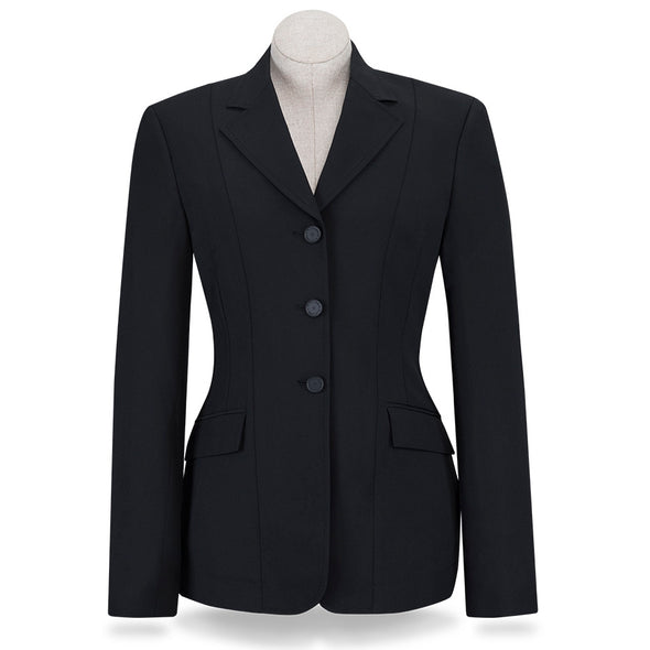 RJ Classics Nora Ladies Show Coat - Black - Equestrian Chic Boutique