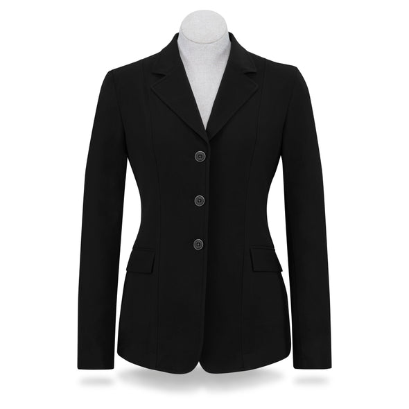 RJ Classics Girls Shore Show Coat - Black - Equestrian Chic Boutique