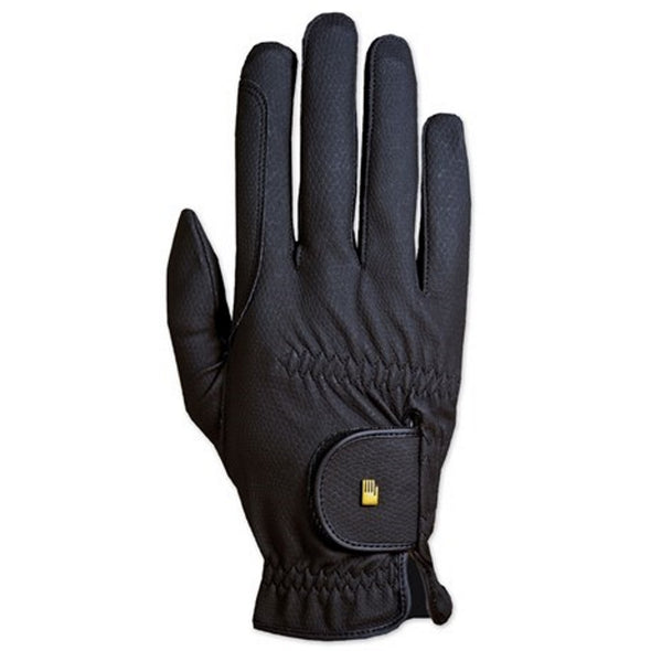Roeckl Roeck-Grip Gloves - Black - Equestrian Chic Boutique