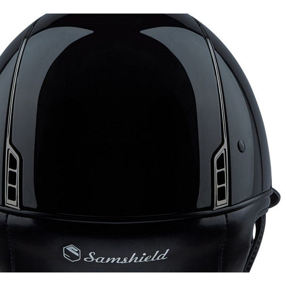 Samshield MISS SHIELD SHADOW GLOSSY Helmet - Equestrian Chic Boutique