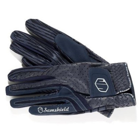 Samshield V-Skin Gloves - Navy - Equestrian Chic Boutique