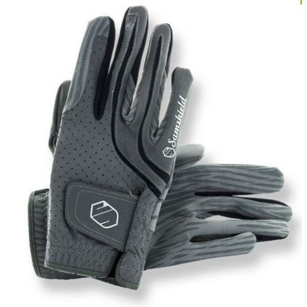 Samshield V-Skin Gloves - Grey - Equestrian Chic Boutique