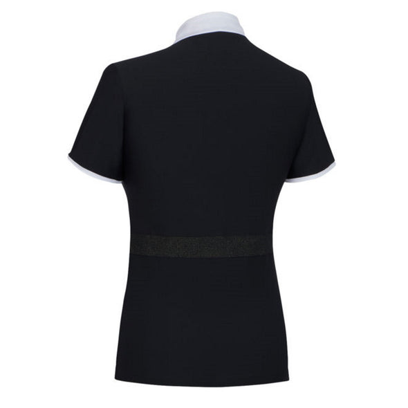 Samshield Georgia Ladies Show Shirt - Black - Equestrian Chic Boutique