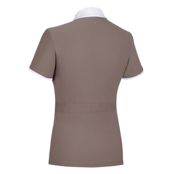 Samshield Georgia Ladies Show Shirt - Taupe - Equestrian Chic Boutique