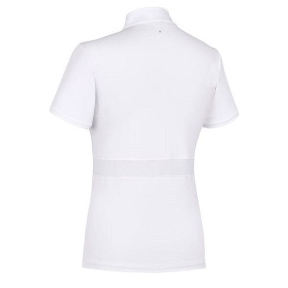 Samshield Georgia Ladies Show Shirt - White - Equestrian Chic Boutique