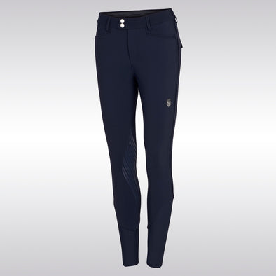 Samshield Hortense Breech - Navy - Equestrian Chic Boutique