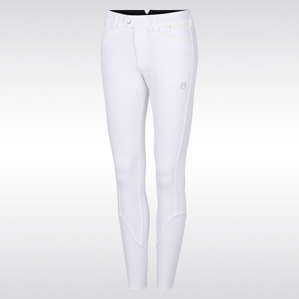 Samshield Mathilde Ladies Breech - White - Equestrian Chic Boutique