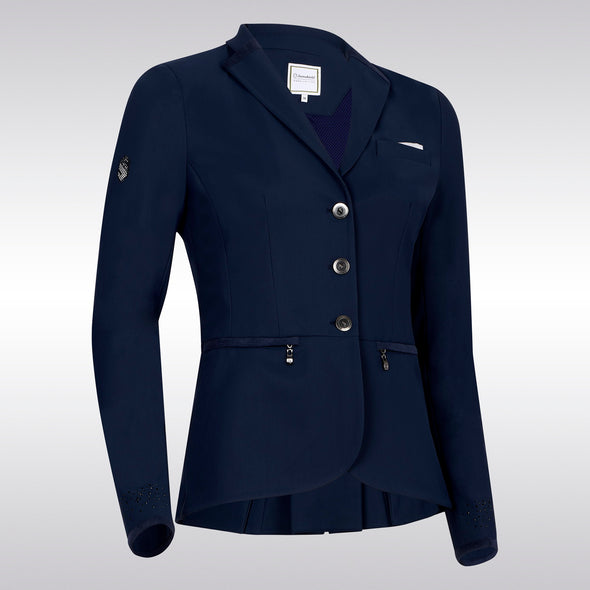 Samshield Victorine Show Coat - Light Blue - Equestrian Chic Boutique