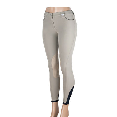 Sarm Hippique OLBIA HUNTER Breeches - Tan - Equestrian Chic Boutique