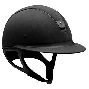 Samshield Miss Shield PREMIUM Helmet ALCANTARA TOP - Black - Equestrian Chic Boutique