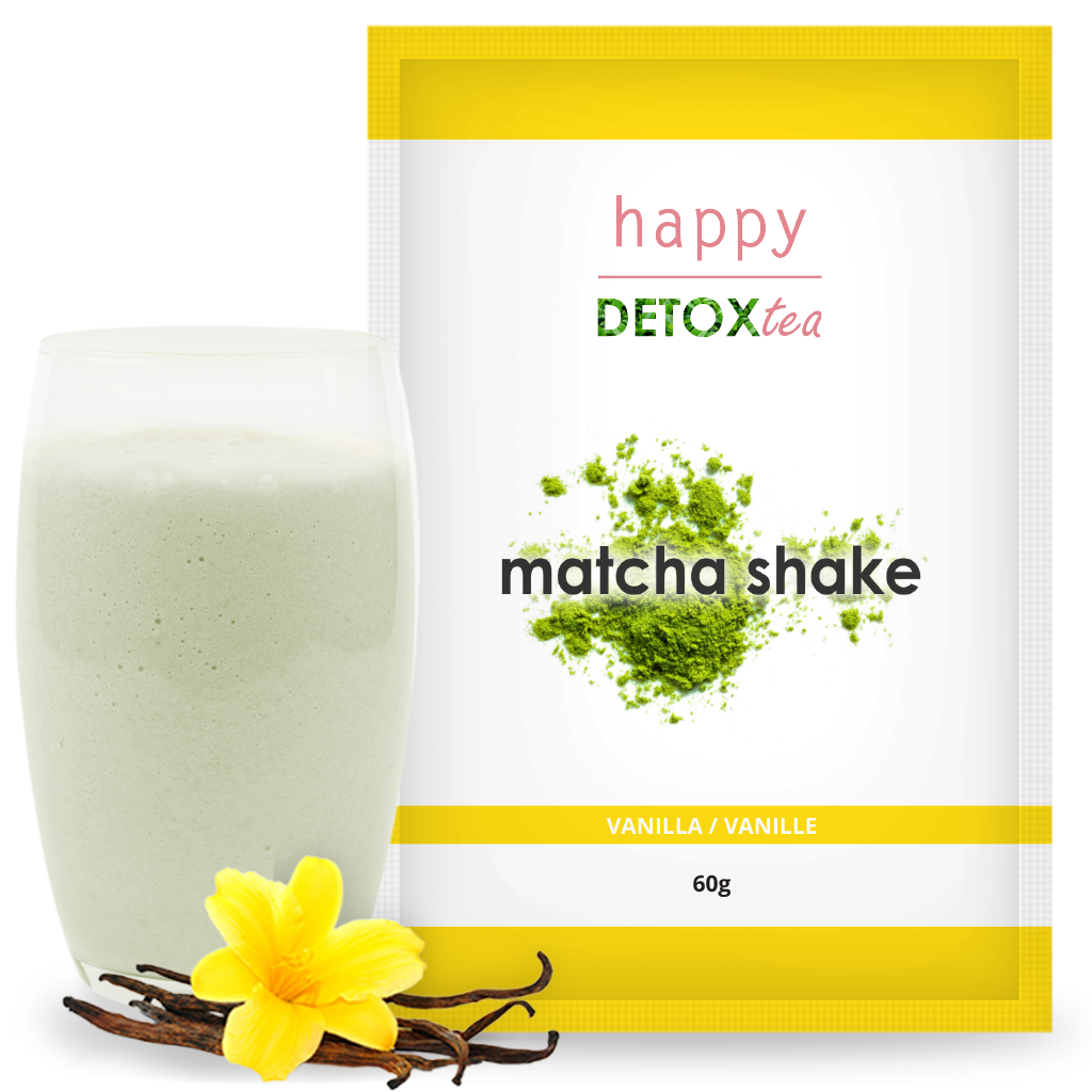 Matcha Shake Vanille Happy Detox Tea