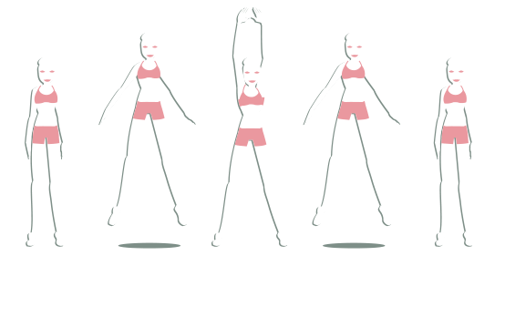 Circuit fitness : jumping jack