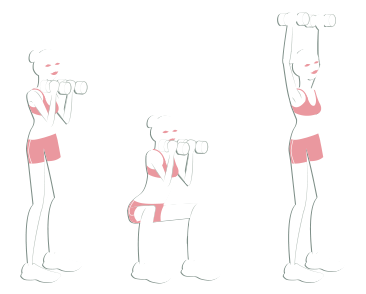 Circuit bas du corps : squat press