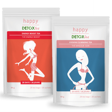 Kit Energy-Boost et Minceur happy detox tea
