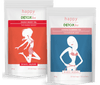 Kit thé Energy-Boost et thé Minceur Happy Detox Tea