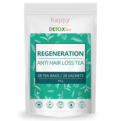 Regeneration - Anti chute de cheveux - Happy Detox Tea