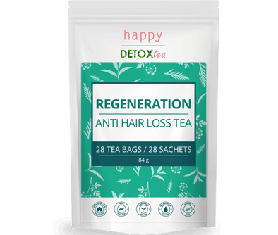 Regeneration - Thé anti chute de cheveux Happy Detox Tea