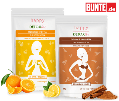 Bunte & Teatox Agrumes & Cannelle