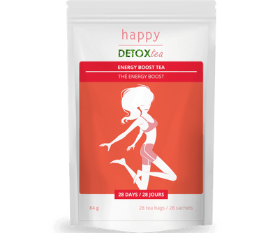 Thé Energy-Boost Happy Detox Tea