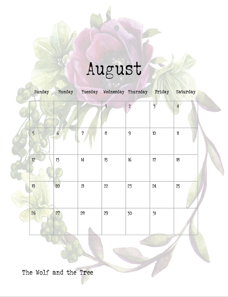 FREE Gorgeous 2018 Wall Calendar + To Do List/Notes Printables