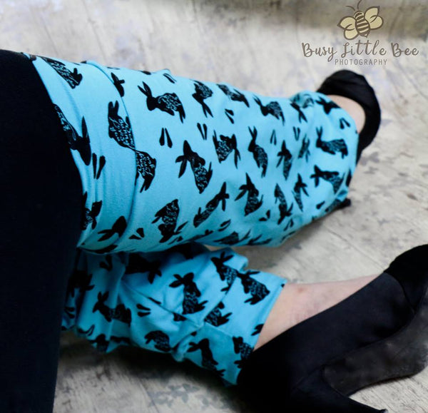 Adult Going Rogue Socks PDF Sewing Pattern