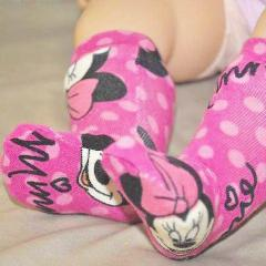 Poppy Swirl Doll Socks