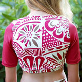 Abby's Rashguard Top - Full length/Crop Top for swimwear or everyday wear