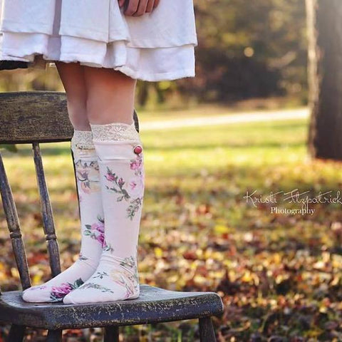 - Abby's Knockout Socks - Whimsical Socks