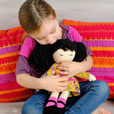 - My Little Girl - sweet rag doll (16'') PDF sewing pattern