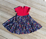 * Abby's Spin + Twirl Top + Dress *