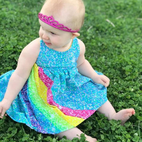Abby's Rainbow Dress