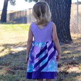 Abby's Rainbow Water - Abby's Watercolor Dress + Abby's Rainbow Skirt