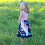 Abby's Rainbow Jump + Skip - Abby's Rainbow Skirt + Abby's Jump + Skip Dress BUNDLE