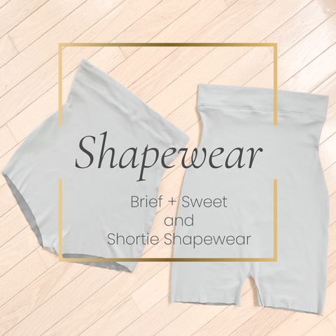 Brief + Sweet Shapewear + Shortie Shapewear Bundle