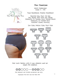 The Cheekies - Mentionables {Underwear} - PDF Sewing Pattern